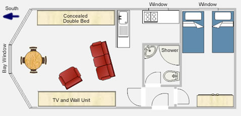 Apartment 1 Floor Plan