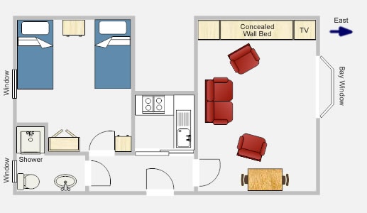 Apartment 7 Floor Plan